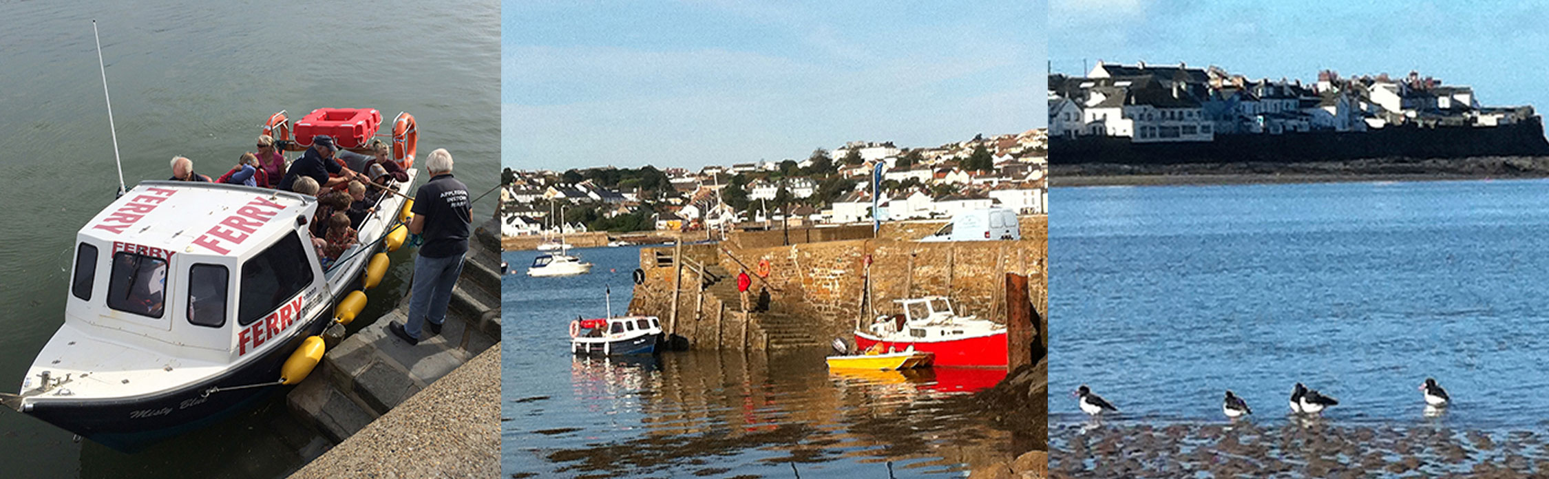 Catch the ferry to Appledore from Instow